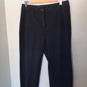 Hilary Radley black dress pants
